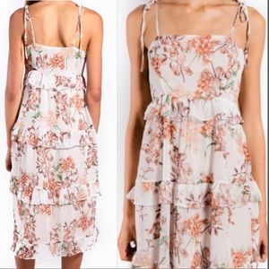 NWOT Anthropologie Lenon Jasmine Dress